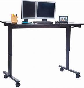 Höhenverstellbarer Schreibtisch Test : h henverstellbarer schreibtisch zum sitzen und stehen im test 2018 expertentesten ~ Orissabook.com Haus und Dekorationen