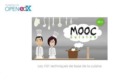 cours de cuisine avec un chef étoilé mooc les 101 techniques de base de la cuisine mooc