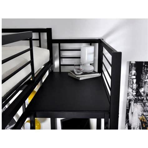 lit mezzanine 2 places avec bureau lit mezzanine plateforme meilleures images d 39 inspiration
