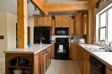 rustic cherry kitchen cabinets photo 9283 rustic cherry kitchen cabinets 4964