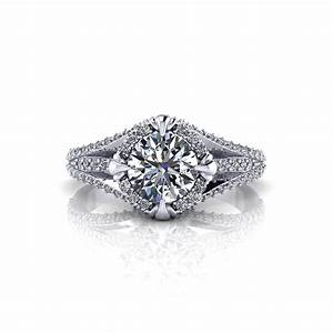 unique halo engagement ring jewelry designs With unique custom wedding rings