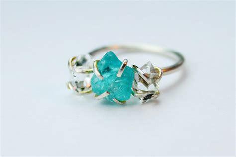 unique engagement rings no diamond diamondstud