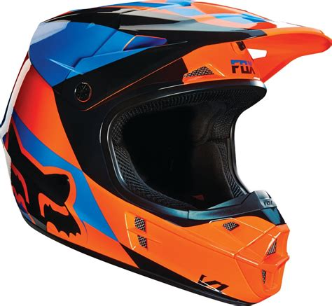 motocross helmet closeout fox racing v1 mako dot mx motocross riding helmet closeout
