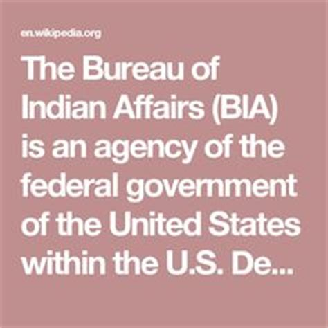 bia bureau of indian affairs bureau of indian affairs bureaus and indian on