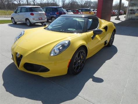 Alfa Romeo 4c Sale by Alfa Romeo 4c For Sale Carsforsale