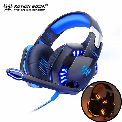 best headset with mic kotion each g2000 computer stereo gaming headphones best