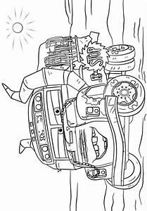 Cars 3 Dibujos Colorear Miss Fritter Dibujalandia