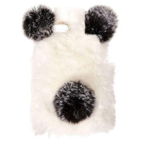faux fur panda phone s us