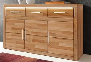 Sideboard Kernbuche Cheap Anrichte Kommode Sideboard
