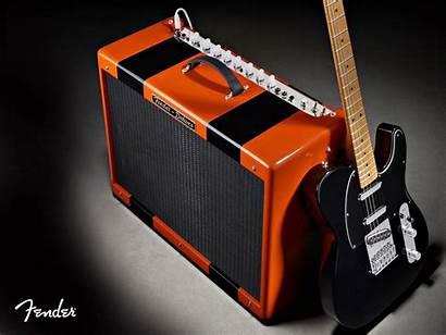 Fender Telecaster Amp Wallpapers Guitar Marshall Around