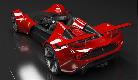 ferrari celeritas concept study inspired  early