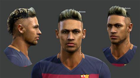face hair neymar jr  pes hd