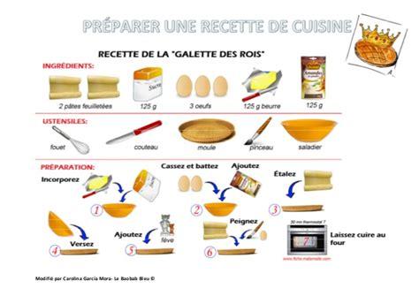 recette de cuisine préparer une recette de cuisine