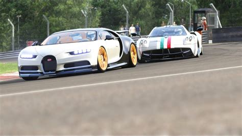 The chiron looks set to achieve the same hallowed status but with the benefit of 11 years of progress. Bugatti Chiron vs Pagani Huayra at Brands Hatch   Bugatti chiron, Pagani huayra, Bugatti