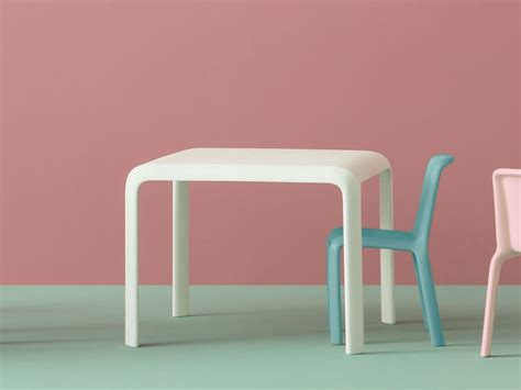 table chaise enfants junior table pour enfants by pedrali design odoardo