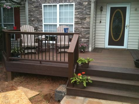 Front Porch Deck by Front Porch Remodels Upgrades Exovations
