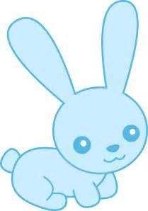 Cute Baby Bunny Clip Art