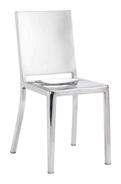 Fall Chair Stainless Steel (set Of 2) By Zuo Modern