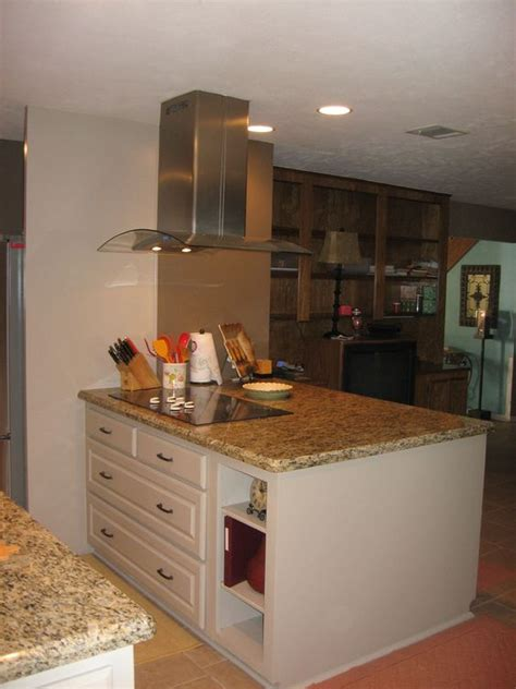 kitchen island wall island stove load bearing wall and vent on 2040