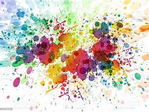Color, Splash, Background, Stock, Illustration