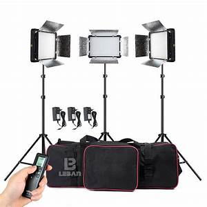 Changeable Version Godox LED500LRC II 1500W 3X LED 500W ...