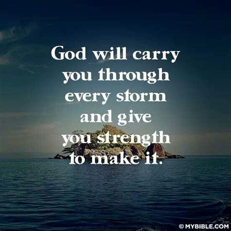 god  carry  throughevery storm faith mindset
