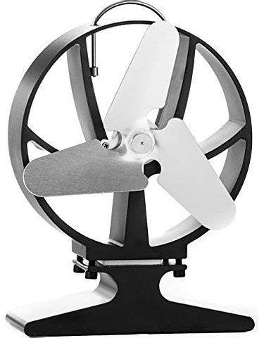 Hansa Thermoelektrischer Ventilator für Kaminofen, schwarz