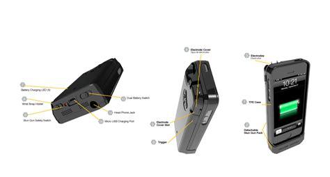 iphone stun gun introducing yellow jacket a stun gun for iphone 5