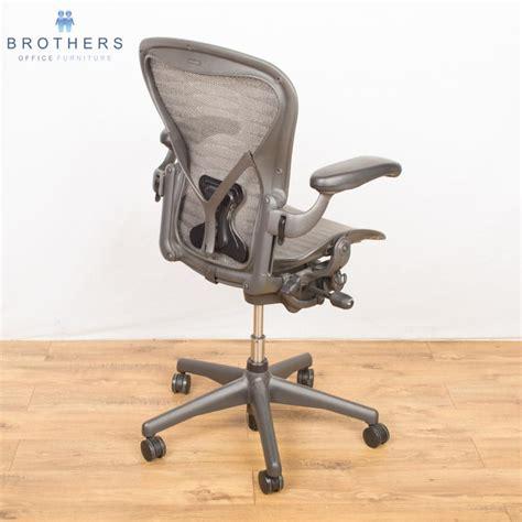 herman miller aeron chair tuxedo size b