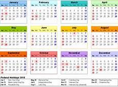 Kalendar 2018 1 Download 2019 Calendar Printable with
