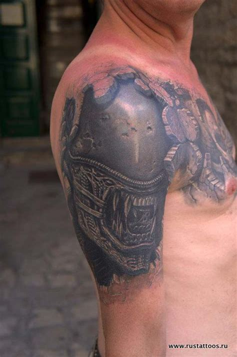 estos  tatuajes en  llevaron la creatividad  el