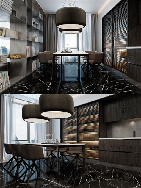 Three Luxurious Apartments With Modern Interiors by Prince It