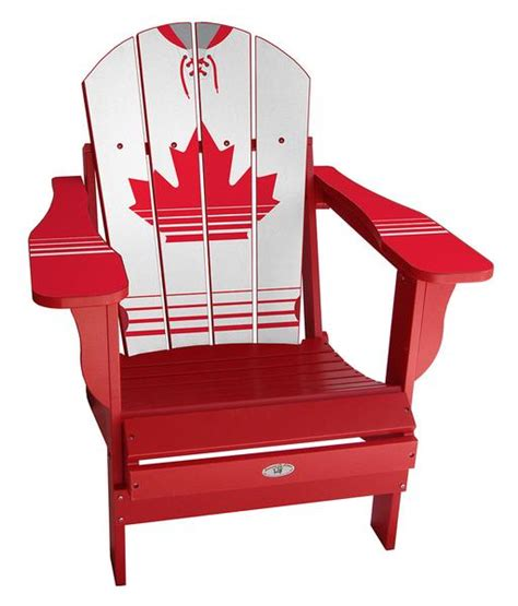 canadian jersey adirondack sports chair