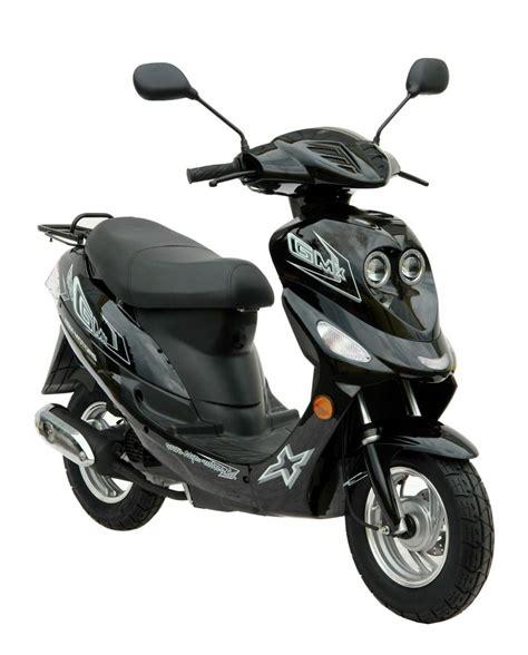motorroller 25 km h gmx 550 motorroller scooter mofa 25 km h schwarz bild 1