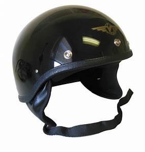 Vintage Motorcycle Helmet By Vector
