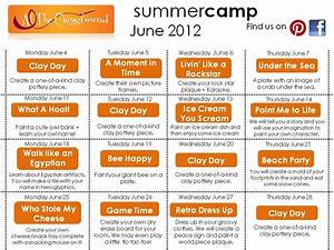 June 2012 Summer Camp Activities | art design. | Summer ...