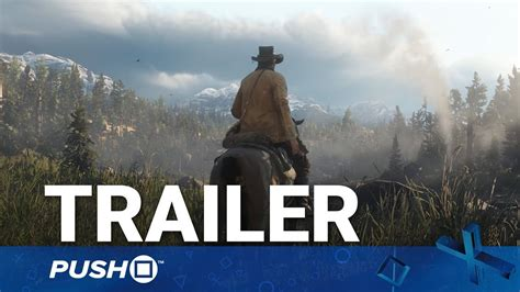 Red Dead Redemption 2 (rdr2) Ps4 Trailer Arthur Morgan