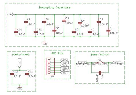 Microcontroller Stmf Custom Board Low Voltage
