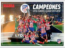 Atlético de Madrid El póster del Atlético de Madrid