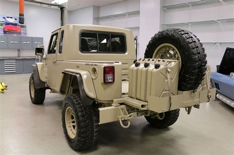 jeep military the jeep wrangler commando is ready for war and peace