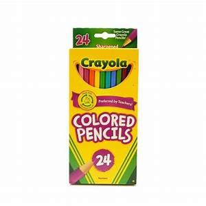 Crayola Colored Pencils - Set of 24