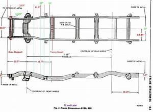 Dodge Ram 1500 Frame Dimensions