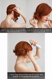 Chignon Cheveux Mi Long : coiffure sympa cheveux mi long ~ Melissatoandfro.com Idées de Décoration