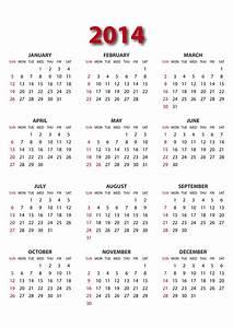 8 best images of full 2014 year calendar printable 2014 for 2014 full year calendar template