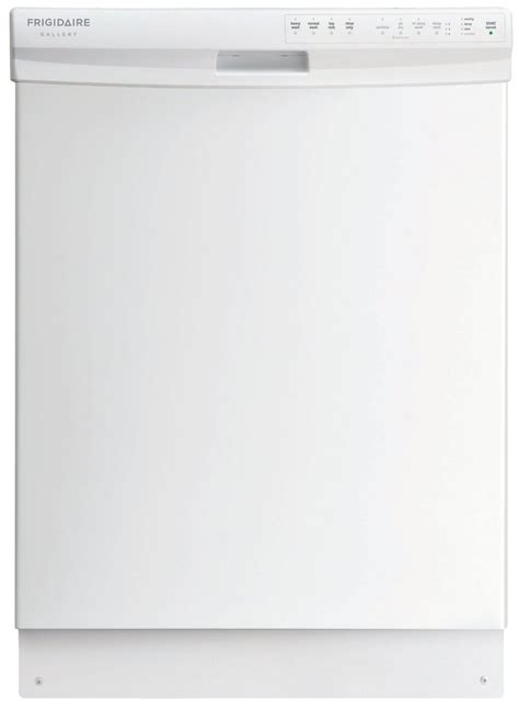Frigidaire Built In Dishwasher 24 In Fgbd2435nw Sears