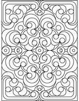 Coloring Pages Pattern sketch template