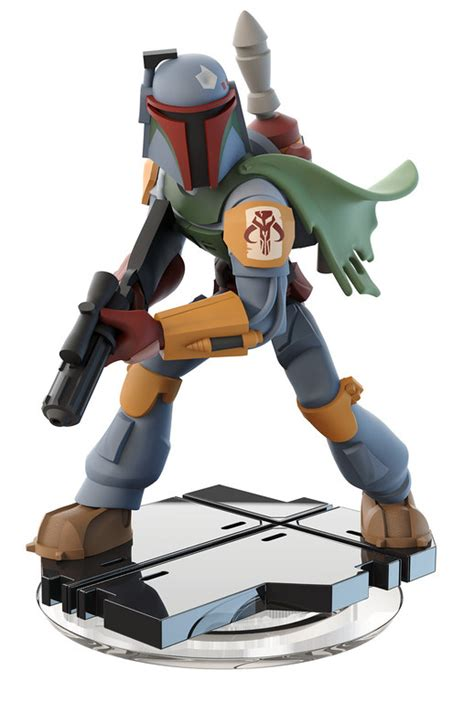 Disney Infinity Boba Fett Star Wars Figure Finally Arrives ...
