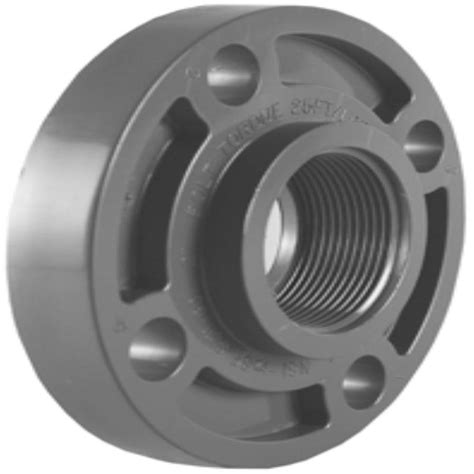 shop charlotte pipe 1 2 in dia pvc sch 80 floor flange at lowes com