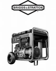 Briggs  U0026 Stratton Portable Generator 30424 User Guide