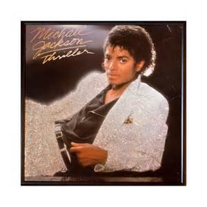 12x12 photo album glittered michael jackson thriller album